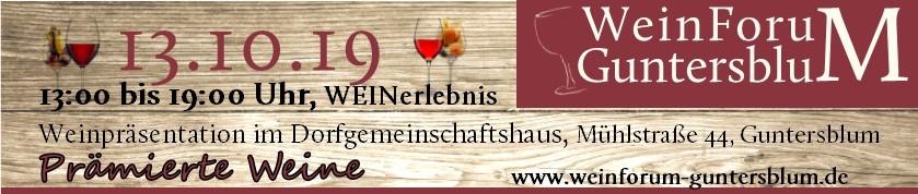 WeinForum Guntersblum